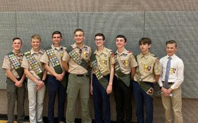 Troop 1692 Eagle and Vanguard Awards