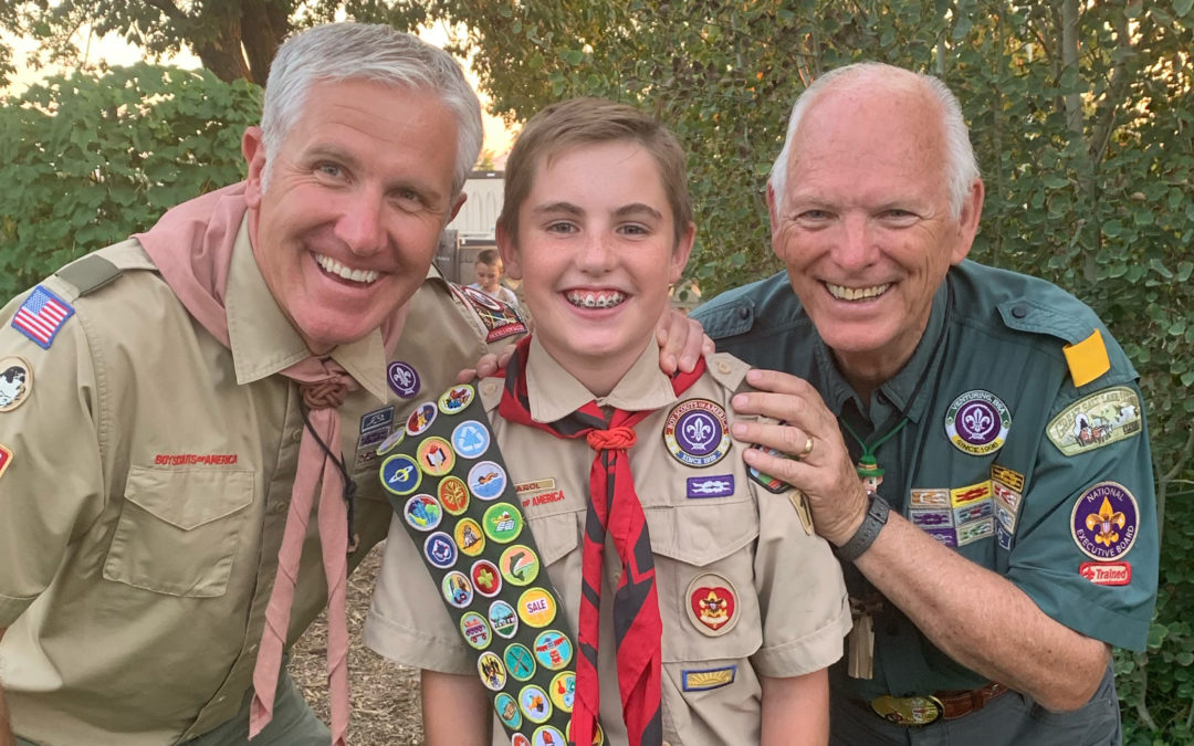 A Scout is Reverent: The Vanguard Religious Awards