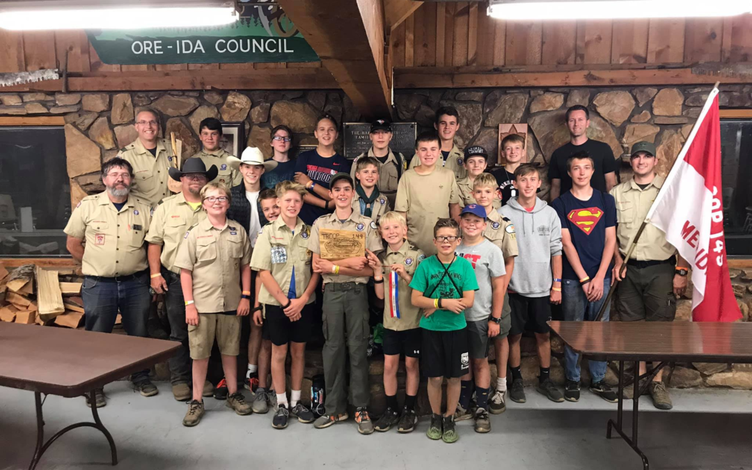 News From the Field: Troop 149 Epic Summer Camp